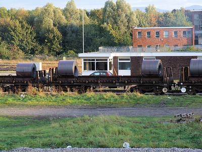 BZA - Bogie Steel Coil Wagon