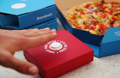 26/12/20 - Domino's Turkey Panic Button