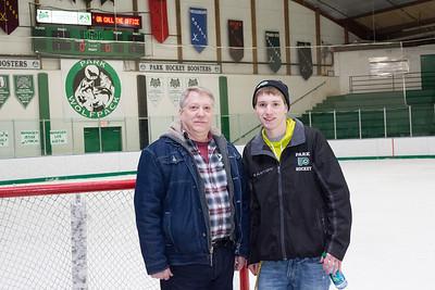 Park Boys Hockey vs Irondale- Senior Night