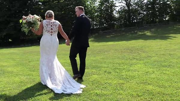 E + T Wedding Trailer