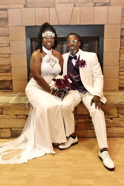 Kenya and Keon Wedding