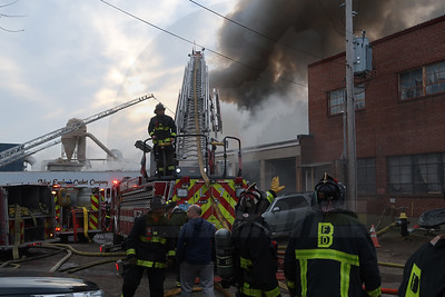 9+ Alarm Commercial Building Fire - Bennington St, Boston, MA - 3/15/19