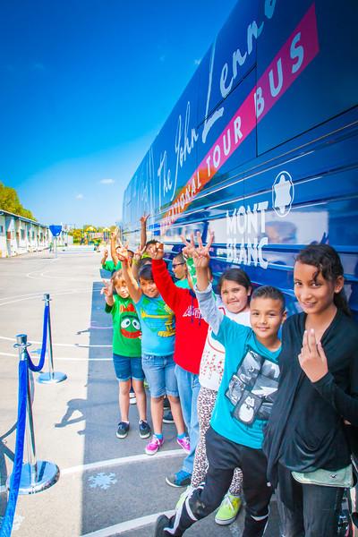 2014_04_22, Pomona, CA, Kingsley Elementary, Public Tours, Line