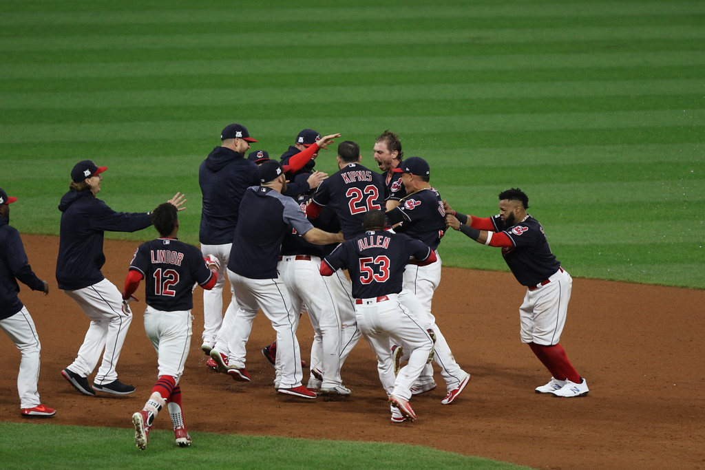 . Tim Phillis - The News-Herald Action from the Yankees-Indians ALDS Game 2 on Oct. 6.