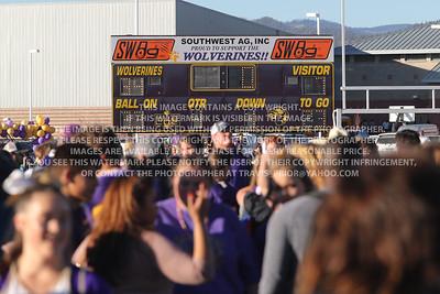 November 25, 2017 Bayfield High School Varsity vs La Junta