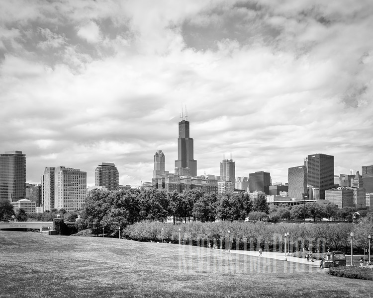 Chicago Skyline from the Museum Campus