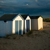 Beach Huts before a storm