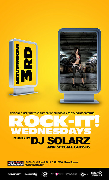 Rock-It Wednesdays w/ SF Giants Sergio Romo, Jonathan Sanchez, Andres Torres @ Infusion 11.3.10