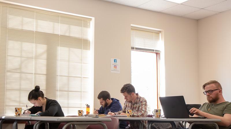 Dr. Amato Coffee Classroom