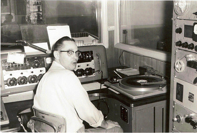 Back when we played records on the radio!