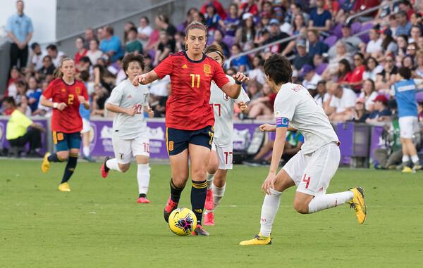 2020 SheBelieves Cup - Japan 1 Spain 3