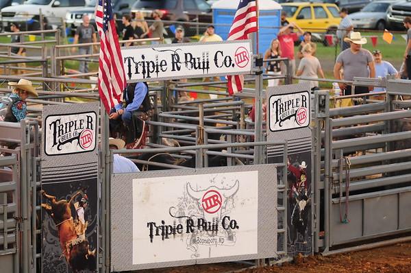 "2017 CLARKE CO FAIR ""Triple R Bull Co.  Rodeo "" 8-18-17"