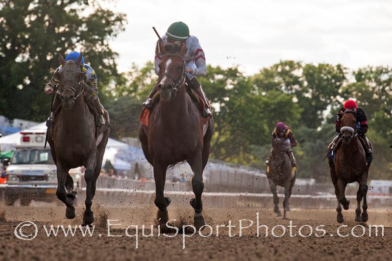 Palace (City Zip); Jose Ortiz up; wins The True North at Belmont Park on 606.14; Linda Rice; trainer. Antonino Muccio owner Bud Morton /Equisport Photos
