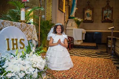 Simone First Holy Communion