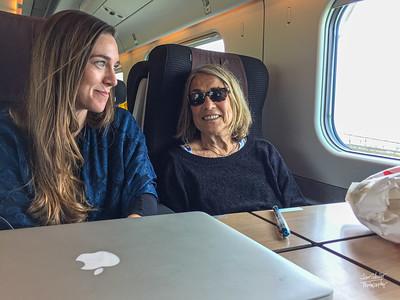 23 Lamezia Terme to Rome - by train