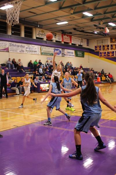 Basketball Girls vs. Comstock - 12/4/14 - KCHS JV