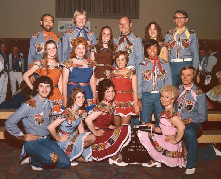 DMC Team at Silver State Festival, Reno, 1976