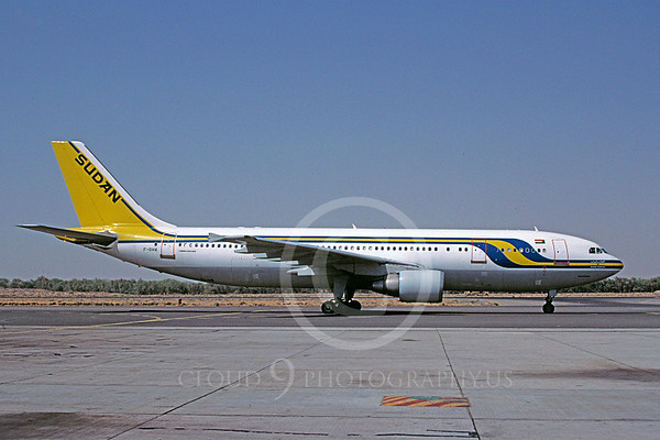 Airbus A300 Sudan Jet Airliner Pictures For Sale