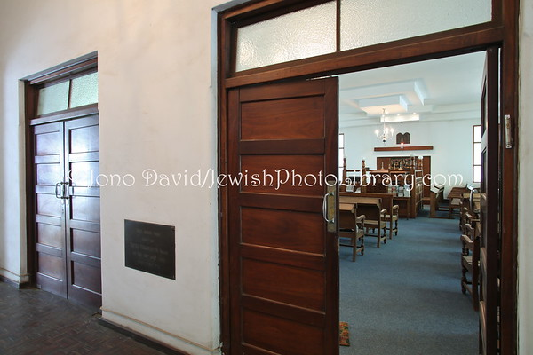 ZAMBIA, Lusaka. Lusaka Synagogue (and rabbi's house and social hall) (2.2013)