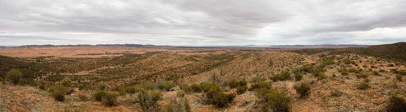 View from the Hungry Ranges, South Australia