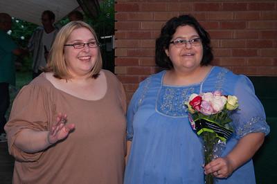 Lori & Manda Wedding Party