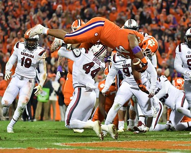 Clemson vs South Carolina Football - 2018 - For Media Use Only