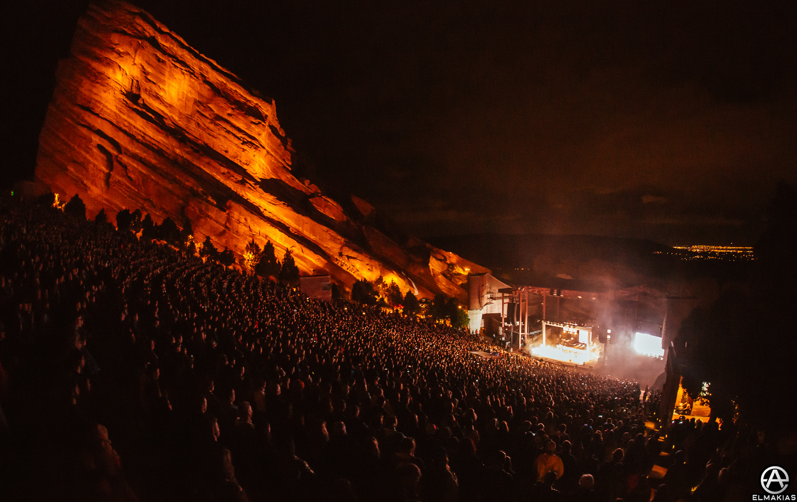 Lindsey Stirling live at Red Rocks Amphitheater by Adam Elmakias