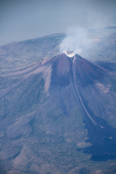 Vista Aerea de Volcán Momotombo en Nicaragua