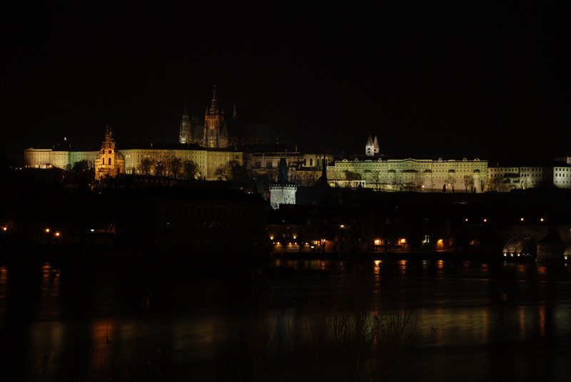 Prague Night Scene Near Water 23.JPG