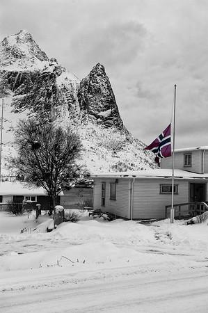 Flying the Norwegian Flag