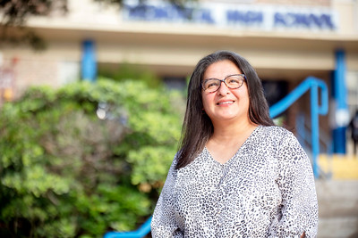 Tina Garcia, Memorial High School