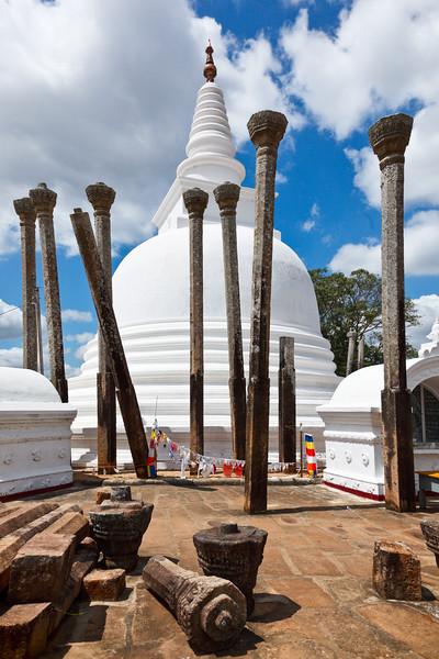Ancient Thuparama Dagoba (stupa)