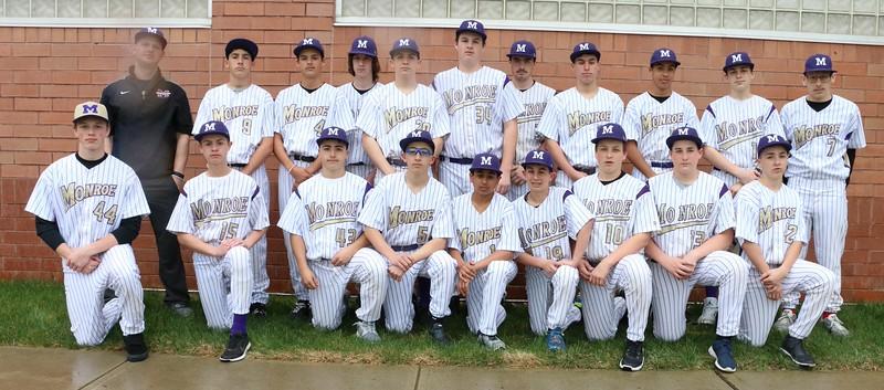 MTHS Baseball Freshman Team Pic April 4, 2016