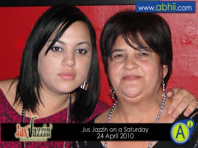 Jus Jazzin - 24th Apirl 2010