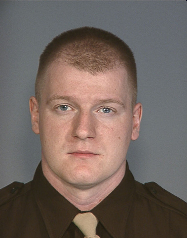 . In this handout photo provided by the Las Vegas Metropolitan Police Department, officer Igor Soldo, 31, of the Las Vegas Metropolitan Police Department (LVMPD) poses for this undated photo. Officer Soldo was one of two officers shot and killed by two assailants at a pizza restaurant on June 8, 2014 in Las Vegas, Nevada. (Photo by Las Vegas Metropolitan Police Department via Getty Images)