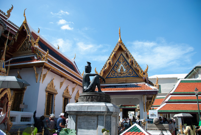At The Grand Palace. Bangkok.