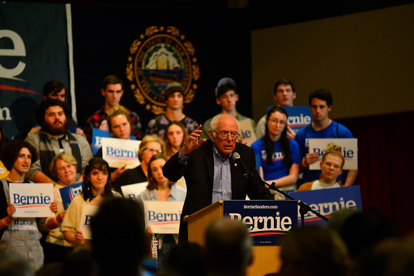 Sanders returns to New Hampshire - 103019