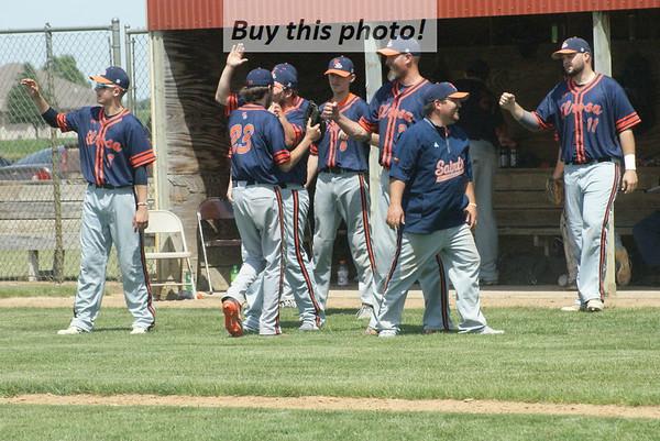 Elrosa baseball at Meire Grove 06-14