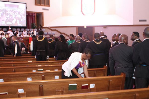 Greater Middle Baptist Church Palm Sunday 2011