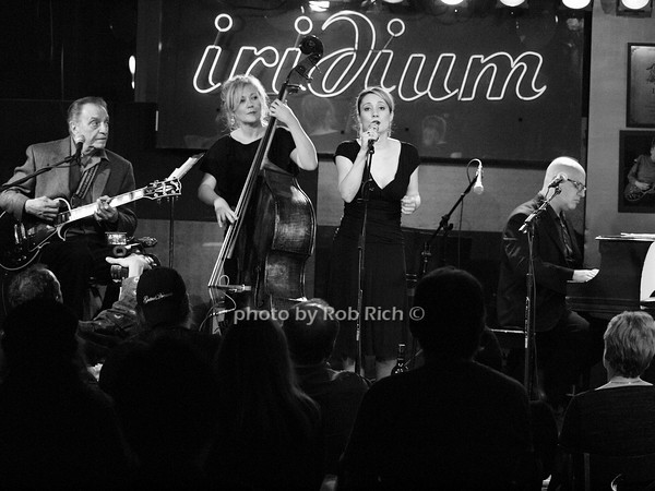 LOU PALLO - GUITAR, NICKI PARROTT - BASS, guest singer, JOHN COLIANNI - PIANO  photo by Rob Rich © 2010 robwayne1@aol.com 516-676-3939