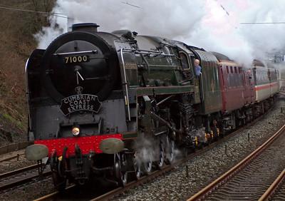 Mainline steam, 2008