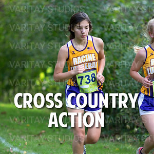 Lutheran Cross Country Action