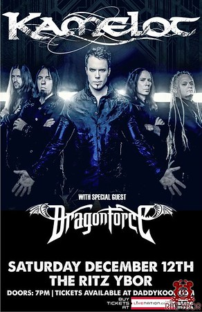 Kamelot with Dragonforce