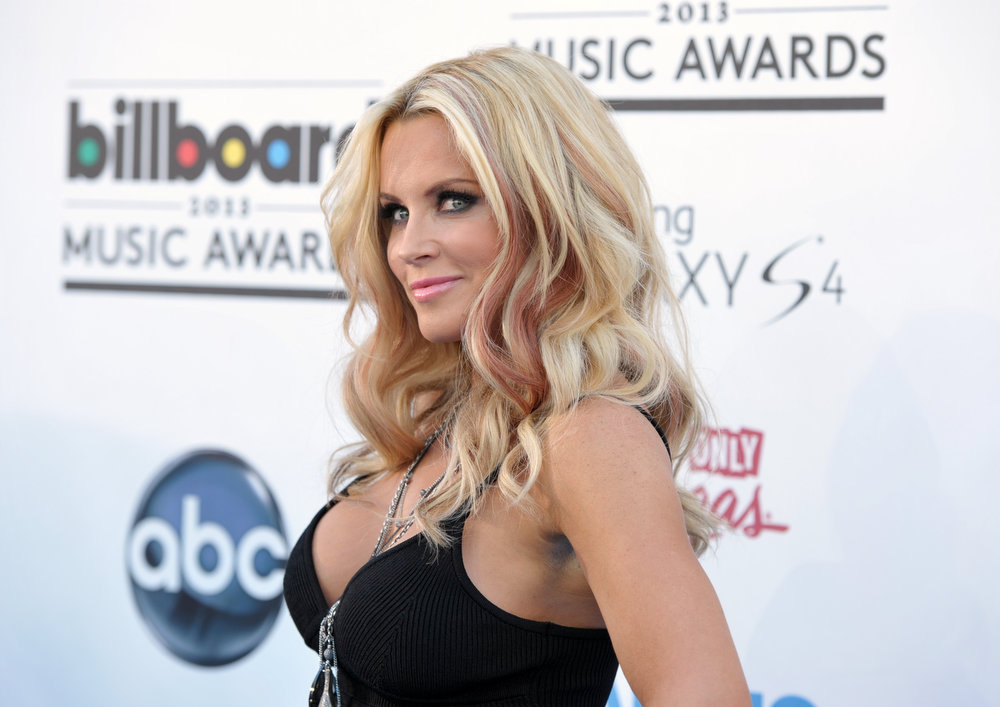 . Jenny McCarthy arrives at the Billboard Music Awards at the MGM Grand Garden Arena on Sunday, May 19, 2013 in Las Vegas. (Photo by John Shearer/Invision/AP)