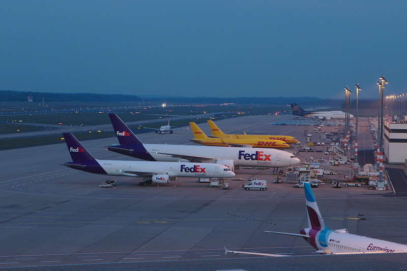 Cologne EDDK, April 2019