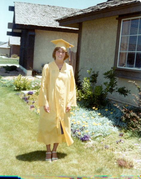 LuAnne HS graduation in California