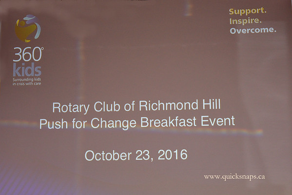 Push for Change 2016 - Rotary Club of Richmond Hill