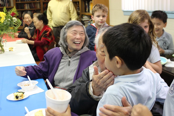 20150508 2nd Grade Ice Cream Party for Seniors
