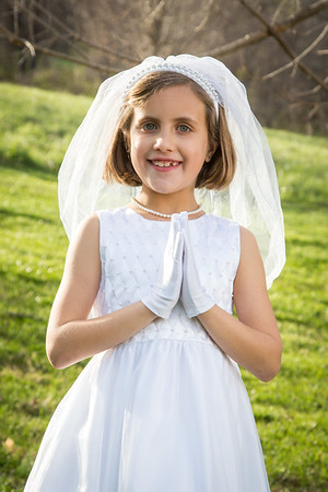 Lily's First Communion