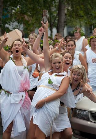 Toga parade 2009